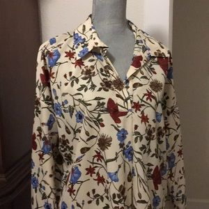 OVERSIZE ZARA BLOUSE NEW WITH TAG